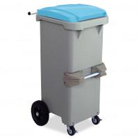 リサイクルカート#110●反転型・ブルー《テラモト正規代理店》※完成品でお届けします。