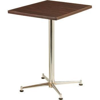 [送料無料][事業者限定] テーブルKBT-6050M[カラー:ブラウン][約W600×D500×H700mm]《テラモト正規代理店》●お客様組立
