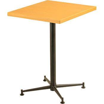 [送料無料][事業者限定] テーブルKBT-6050T[カラー:ナチュラル][約W600×D500×H700mm]《テラモト正規代理店》●お客様組立