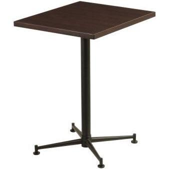 [送料無料][事業者限定] テーブルKBT-6050T[カラー:ブラウン][約W600×D500×H700mm]《テラモト正規代理店》●お客様組立