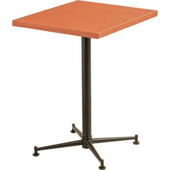 [送料無料][事業者限定] テーブルKBT-6050T[カラー:ハニーブラウン][約W600×D500×H700mm]《テラモト正規代理店》●お客様組立