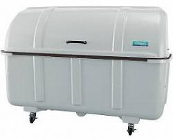 [送料無料][事業者限定] ジャンボステーションJ1500C(キャスター付)[容量:約1500L][耐荷重量:100Kg]《山崎産業正規代理店》●組み立て式