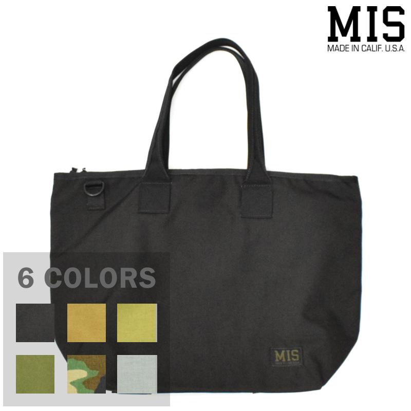 【6 COLORS】M.I.S 【MADE IN U.S.A】TOTE BAG(トートバッグ) CORDURA NYLON(コーデュラナイロン) MIS-1006