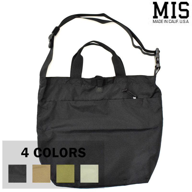 【4 COLORS】M.I.S 【MADE IN U.S.A】2WAY SHOULDER BAG(2ウェイショルダーバッグ) MIS-P102