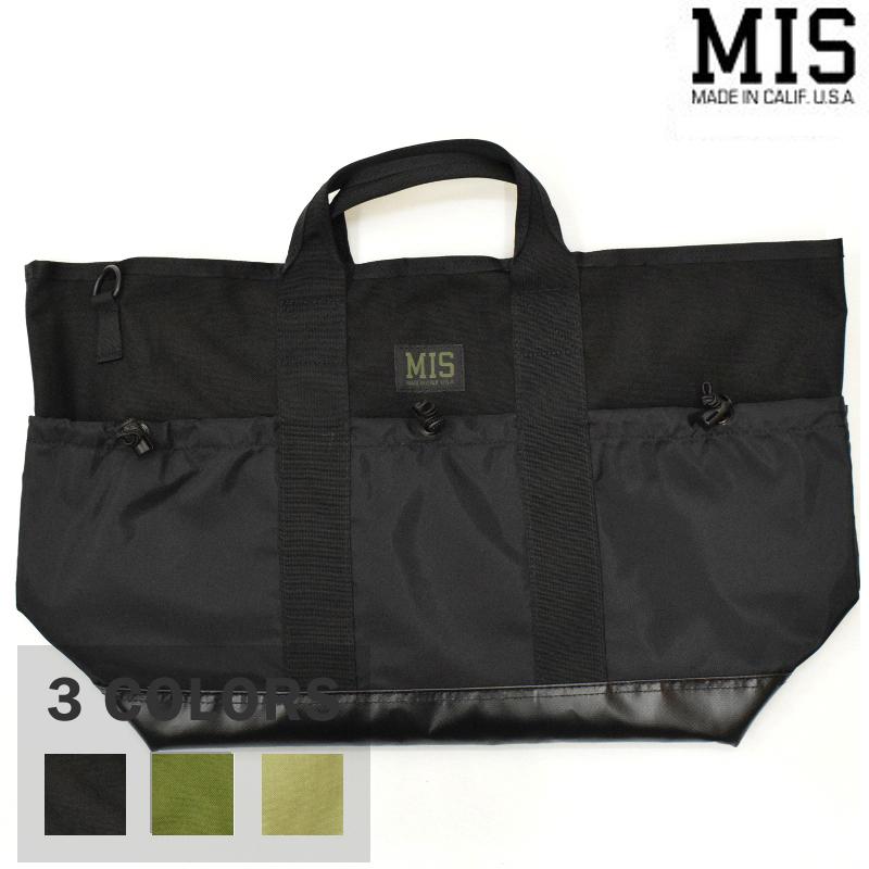 【3 COLORS】M.I.S 【MADE IN U.S.A】MULTI POCKET TOTE BAG(マルチトートバッグ) CORDURA NYLON(コーデュラナイロン) MIS-1036