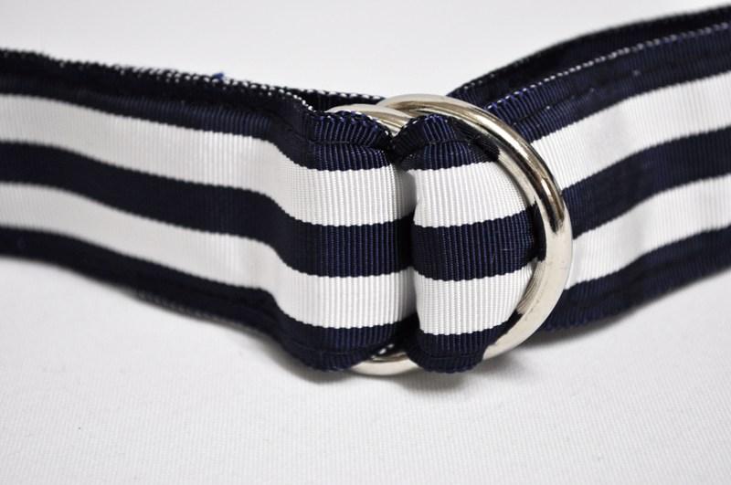 BARRONS 猎人 (猎人男爵) 双圆环带皮带 (环发带皮带) NAVK/双白