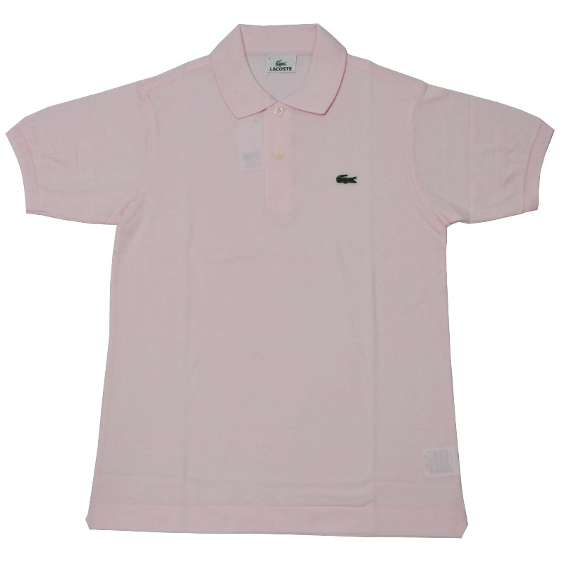 JAPAN LACOSTE(ジャパンラコステ) L1212 S/S PIQUE POLOSHIRTS(半袖 鹿の子 ポロシャツ) FLAMANT(PINK)(T03)