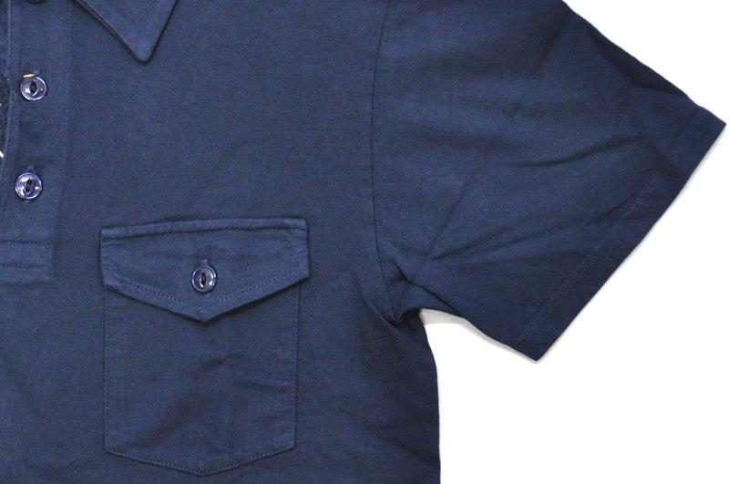 FELCO(feruko)S/S POLO SHIRT(美國製造短袖開領短袖襯衫)NAVY