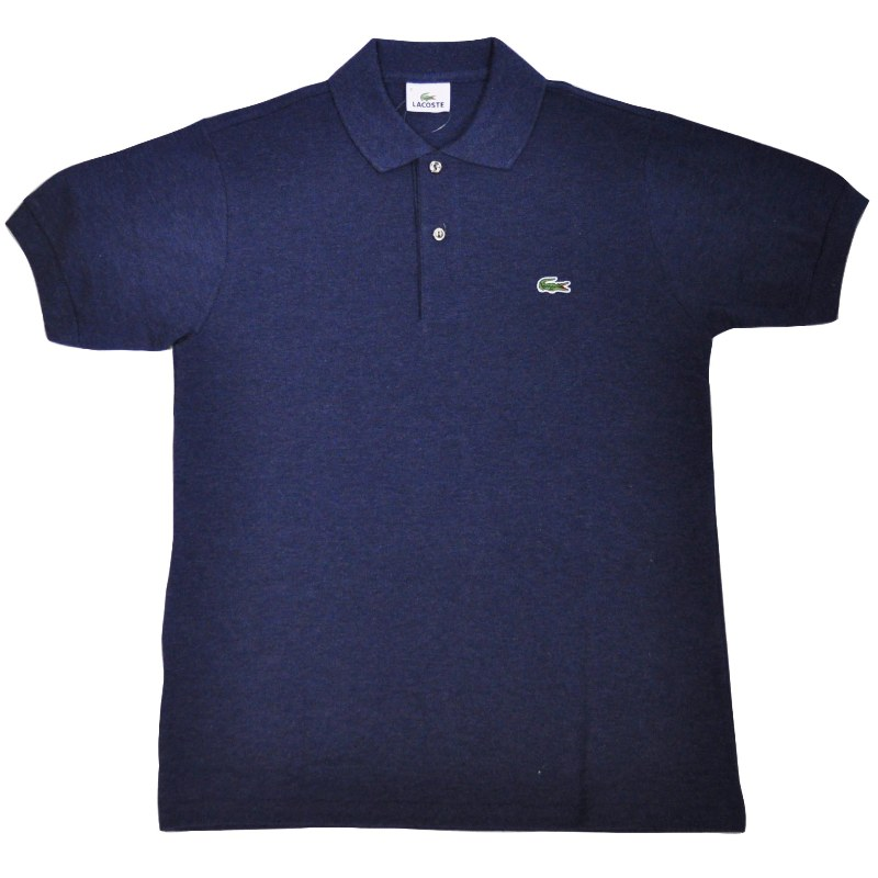 FRANCE LACOSTE(直輸入フランスラコステ) #L1264 S/S PIQUE POLOSHIRTS(半袖 鹿の子 ポロシャツ) NOCTURNE(HEATHER NAVY)(UJF)