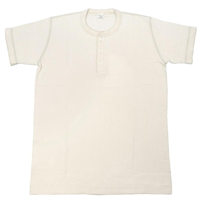 ENTRY SG(エントリーエスジー) 半袖ヘンリーネックTシャツ【SONORA】(ソノラ) FROSTY WHITE