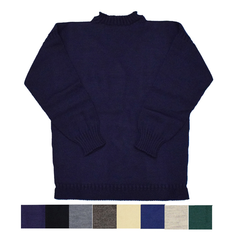 【6 COLOR】GUERNSEY WOOLENS(ガーンジーウーレンズ) GUERNSEY SWEATER(ガンジーセーター)