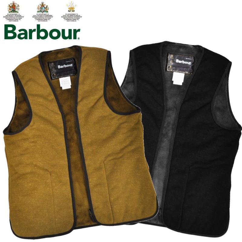 【2 COLORS】BARBOUR(バブアー) FUR LINER VEST SL(スリムフィット ファーライナーベスト)