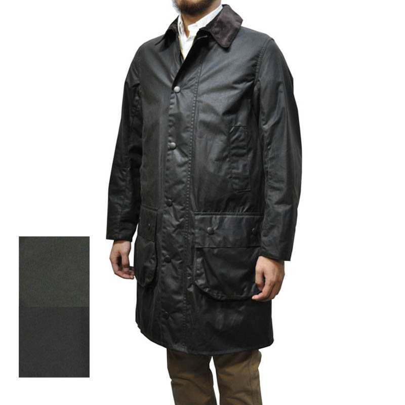 【2 COLORS】BARBOUR(バブアー)【MADE IN ENGLAND】ワックスコート BORDER SL(スリムフィット ボーダー)