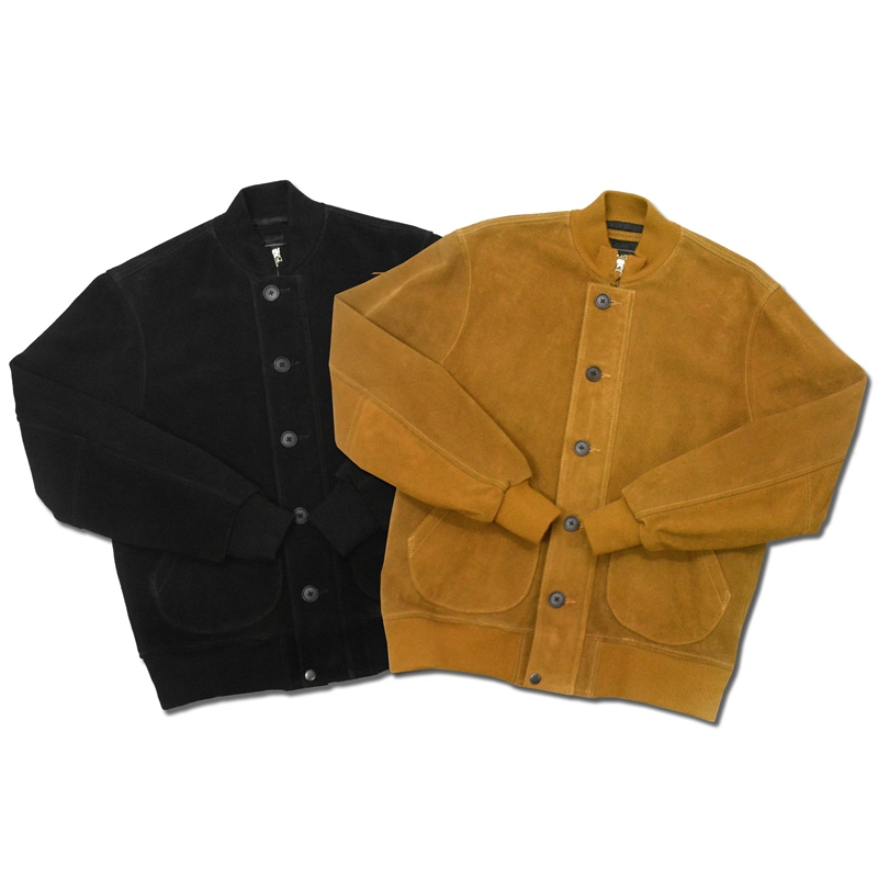 【2 COLORS】MICHAEL CLASSIC APPAREL(マイケルクラシックアパレル)【MADE IN U.S.A.】 SUEDE DECK JACKET(アメリカ製 スウェード デッキジャケット)