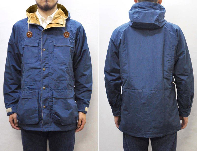 SIERRA DESIGNS(シェラデザイン)【MADE IN U.S.A.】 50TH ANNIVERSARY EDITION MOUNTAIN PARKA(アメリカ製 50周年記念限定トート付き マウンテンパーカ) 60/40(ロクヨンクロス) NAVY/TAN