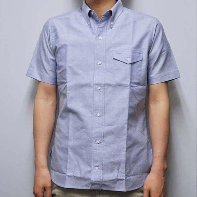 SEPTIS ORIGINAL(セプティズオリジナル) S/S ORIGINAL IVY SHIRTS(半袖オリジナルアイビーシャツ) OXFORD(オックスフォード) BLUE