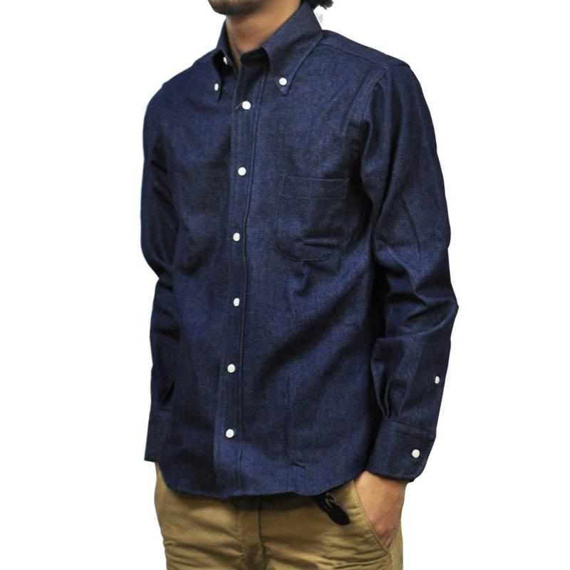 INDIVIDUALIZED SHIRTS(インディビジュアライズドシャツ) STANDARD FIT SHIRTS(長袖スタンダードフィットシャツ) VINTAGE DENIM