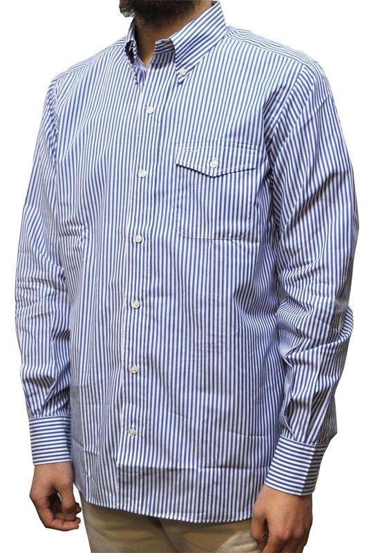 SEPTIS ORIGINAL(セプティズオリジナル) 長袖ボタンダウンシャツ IVY SHIRTS(オリジナルアイビーシャツ) BROAD(ブロードクロス) ロンドンストライプ BLUE/WHITE