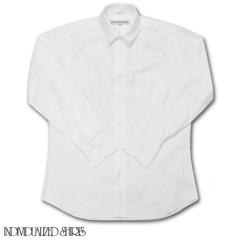 INDIVIDUALIZED SHIRTS(インディビジュアライズドシャツ) STANDARD FIT SHIRTS(長袖スタンダードフィットシャツ) GREAT AMERICAN OXFORD