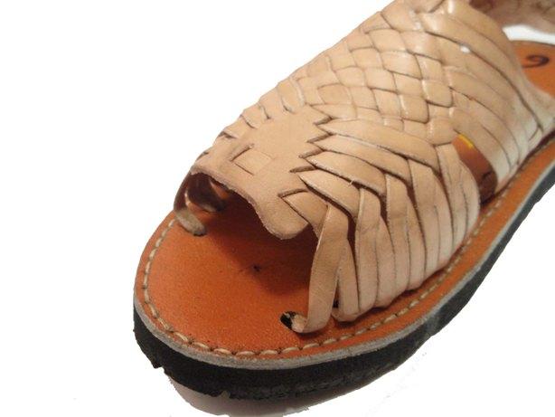 d1b25b28e23459 septis  HUARACHE (Wallach) MEXICAN SANDAL (Mexican sandals) NATURAL ...