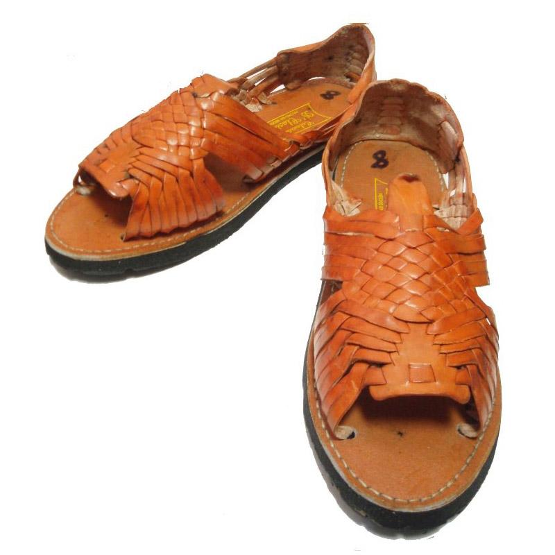 fad0f981a66 septis  HUARACHE (Wallach) MEXICAN SANDAL (Mexican sandals) TAN ...