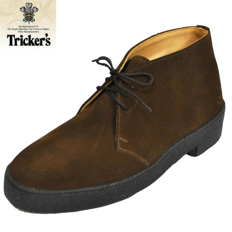 TRICKER's (trickers) MUD GUARD CHUKKA BOOT (マッドガードチャッカ boot) SNUFF (BROWN) SUEDE