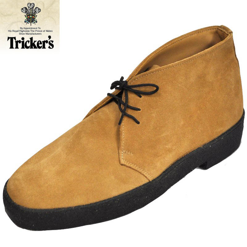 TRICKER'S(トリッカーズ) MUD GUARD CHUKKA BOOT(マッドガードチャッカブーツ) CAMEL SUEDE