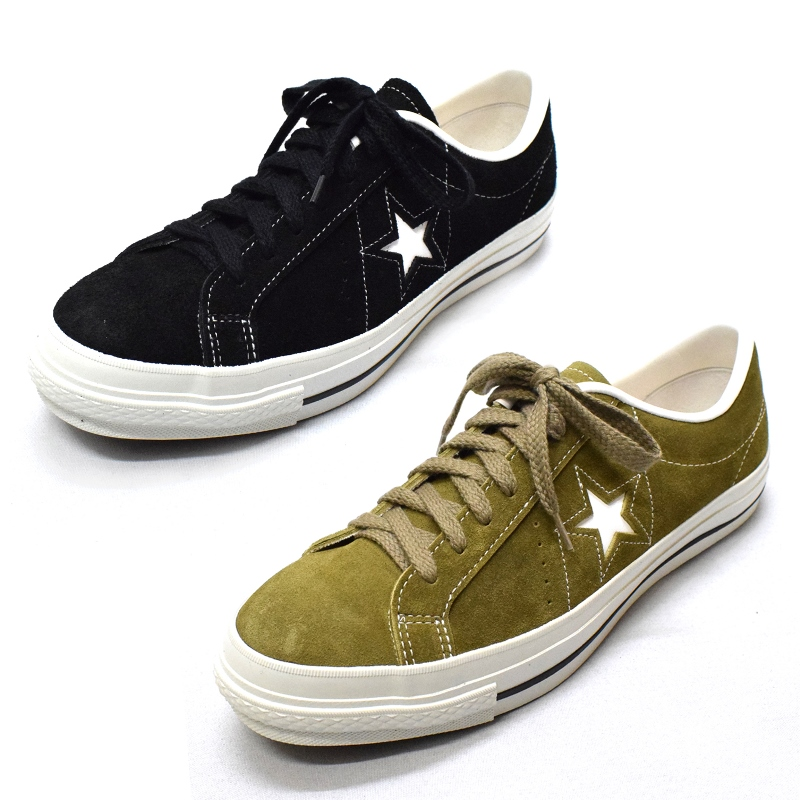 【2 COLOR】CONVERSE(コンバース) 【MADE IN JAPAN】(日本製) ONE STAR J(ワンスター) SUEDE(スウェード)