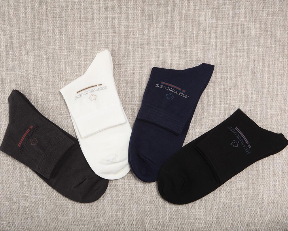 SEPTWOLVESメンズ抗菌カジュアルソックス70019 26-28cm 靴下 くるぶし上 新作アイテム毎日更新 評価 ビジネス スーツ カジュアル おしゃれ ギフト