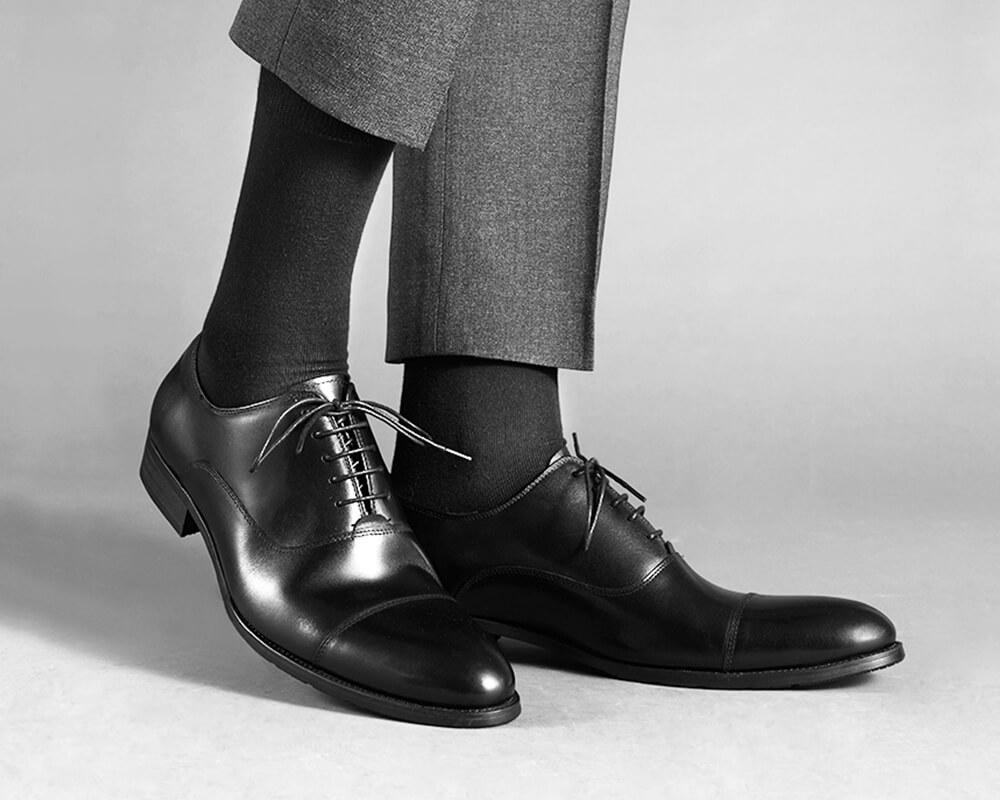 SEPTWOLVES メンズ スーツ ソックス97598 休日 26-28cm 靴下 無地 抗菌防臭 くるぶし上 ギフト ノーマル [並行輸入品]