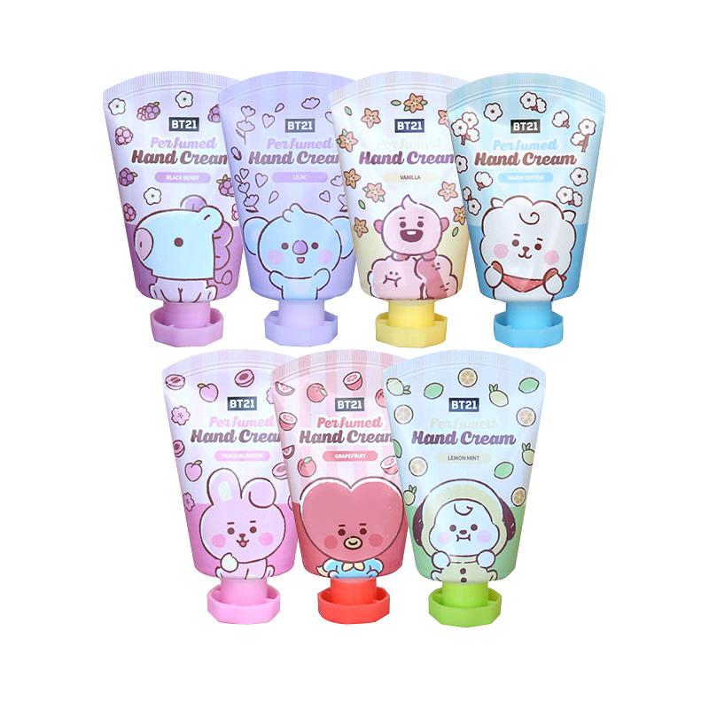 ハンドケア 韓国コスメ 保湿ケア BT21 ハンドクリーム 1個 クリーム ブランド買うならブランドオフ ハンド HAND パヒューム 正規品 BT21ハンドクリーム CREAM
