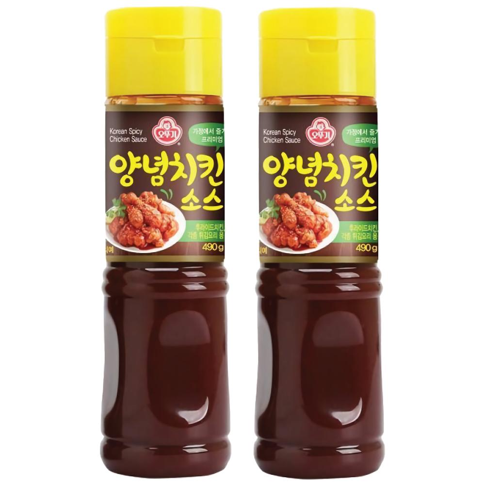 新商品!  オットゥギ ヤンニョムチキンソース 490g 2本セット オトギ 韓国風 味付けチキン ソース