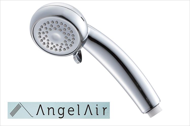 【シャワーヘッド】 Toshin AngelAir マイクロバブルシャワーヘッド エンジェルエアープレミアム(TH-007-Chrome) 節水 マイクロバブル
