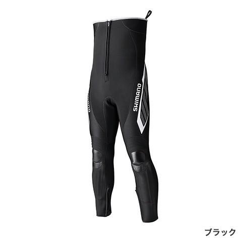 シマノ ブラックパールフィット・鮎タイツ(ハイブリッドタイプ) 2.5mm