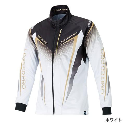 シマノ フルジップシャツLIMITED PRO(長袖) SH-011S ホワイト 2XL