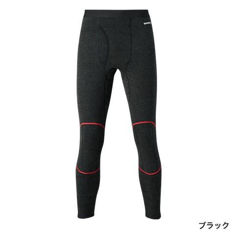 シマノ ブレスハイパー+℃ ストレッチアンダータイツ (極厚タイプ)IN-025Q ブラックL