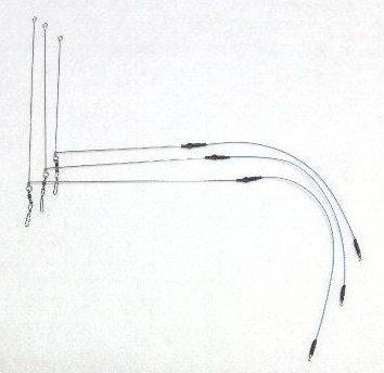 絡み激減!! 拙者砂ズリ付き  L型スリムてんびん Ver.2 (2本)150mm(砂ズリ20cm標準型)_T-LSU15