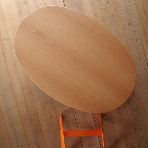 STAR LIGHTリビング 150×90 楕円形 ナラ | ウォールナット|北欧|和風|モダン|シンプル|デザイン||おしゃれ|かわいい||日本製|リビングテーブル|国産リビングテーブル||センターテーブル|ローテーブル|座卓|折脚|折足|