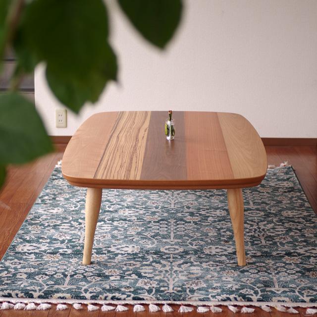 卸し売り購入 UPこたつ 120×80 長方形 ボーダー 天然木5色突板|北欧|モダン|シンプル|デザイン||おしゃれ|かわいい||日本製|こたつ|コタツ|座卓||国産こたつ|国産コタツ|センターテーブル||リビングテーブル|リビングこたつ|ローテーブル|, きものe-shopおうみ屋 9dd80960