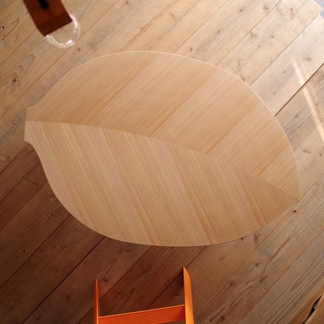 Konoha座卓 120 リーフ型 楕円 ニレ突板 ナチュラル色|北欧|和風|モダン|シンプル|デザイン||おしゃれ|かわいい||日本製|座卓|ちゃぶ台||国産テーブル|ローテーブル|机||折れ脚|折りたたみ式|