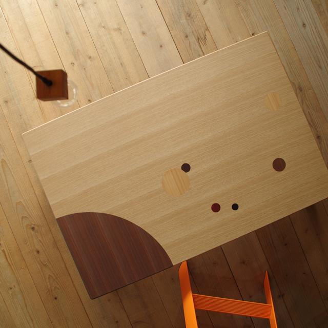 candy座卓 120×80 長方形 ナラ & 木象嵌|北欧|和風|モダン|シンプル|デザイン||おしゃれ|かわいい||日本製|座卓|ちゃぶ台|ローテーブル||国産座卓|国産円卓|センターテーブル|