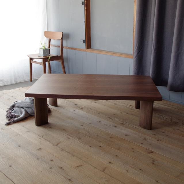 FTT座卓 120×80 長方形 タモ | ウォールナット|北欧|和風|モダン|シンプル|デザイン||おしゃれ|かわいい||日本製|ローテーブル|国産リビングテーブル||フロアーテーブル|座卓|座机|