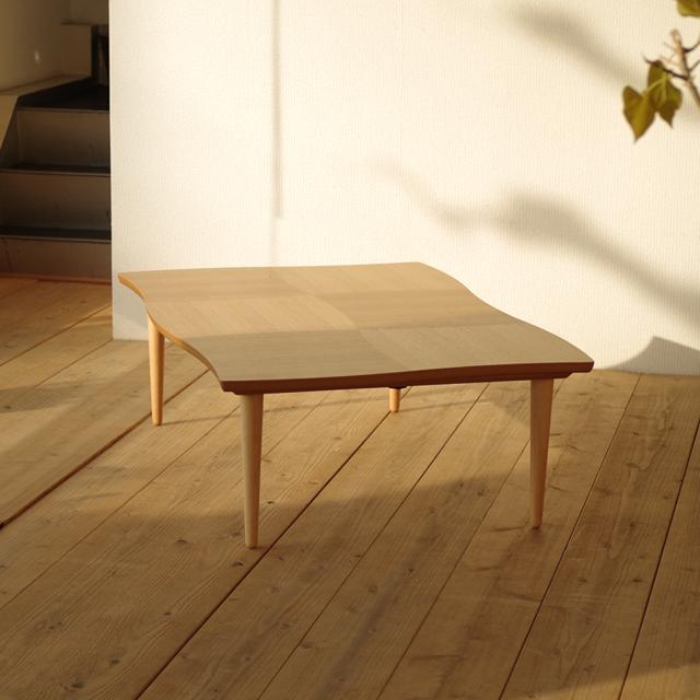 namiこたつ 120×80 長方形 ナラ | ウォールナット|北欧|モダン|シンプル|デザイン||おしゃれ|かわいい||日本製|こたつ|コタツ|座卓||国産こたつ|国産コタツ||リビングテーブル|リビングこたつ|リビングコタツ|ローテーブル|