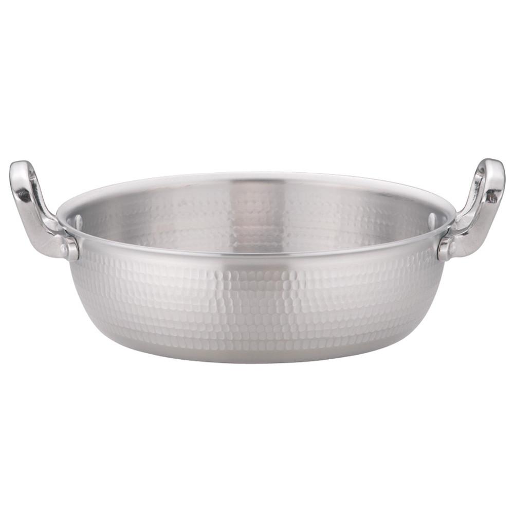 アルミDON 打出揚鍋 27cm [ 深さ:90mm 4.8L ] [ 料理道具 ] | 厨房 キッチン 和食 料亭 てんぷら屋 業務用