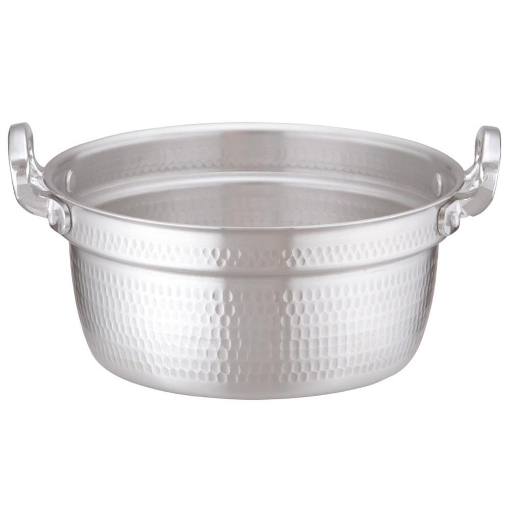 アルミDON打出円付鍋 24cm [ 外径:253mm 深さ:110mm 4.4L ] [ 料理道具 ] | 厨房 キッチン 和食 料亭 業務用