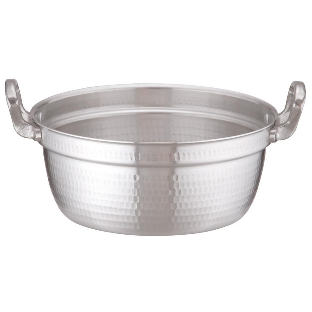 アルミDON打出円付鍋 30cm [ 外径:312mm 深さ:135mm 8L ] [ 料理道具 ]   厨房 キッチン 和食 料亭 業務用
