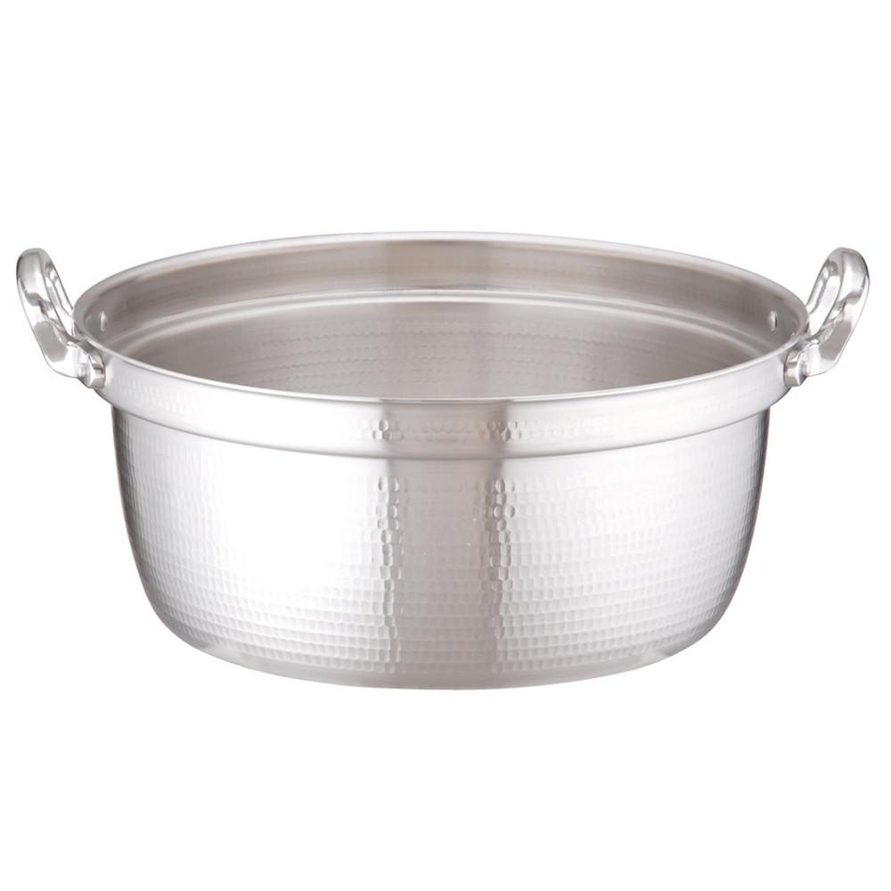 アルミDON打出円付鍋 48cm [ 外径:497mm 深さ:220mm 33L ] [ 料理道具 ]   厨房 キッチン 和食 料亭 業務用