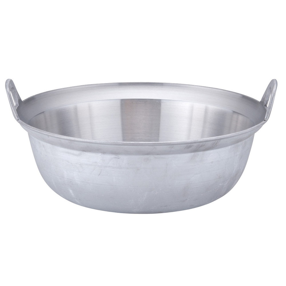 アルミイモノ円付鍋 39cm [ 外径:394mm 深さ:137mm 底内寸:290mm 10.5L ] [ 料理道具 ] | 厨房 食堂 和食 ホテル 飲食店 業務用