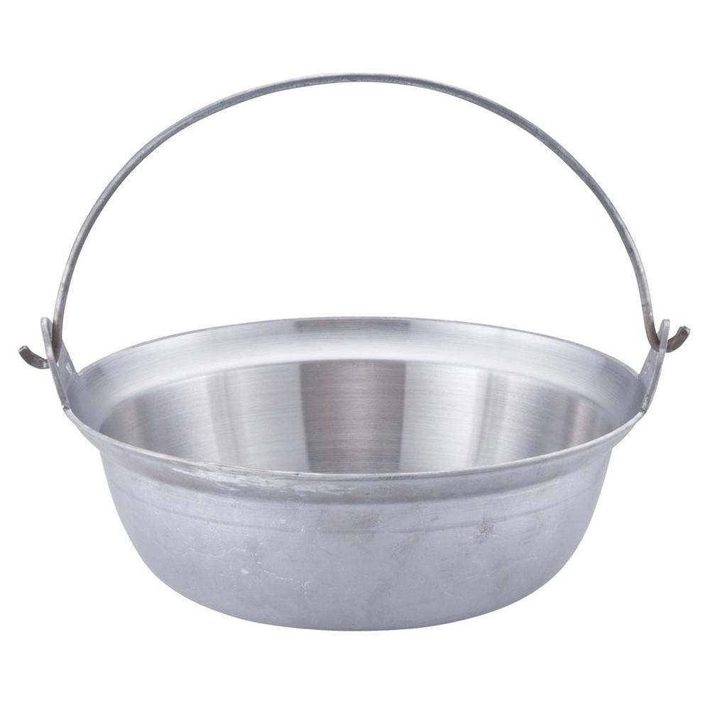 アルミイモノ 吊付円付鍋 33cm [ 外径:327mm 深さ:112mm 6.1L ] [ 料理道具 ] | 厨房 食堂 和食 ホテル 飲食店 業務用