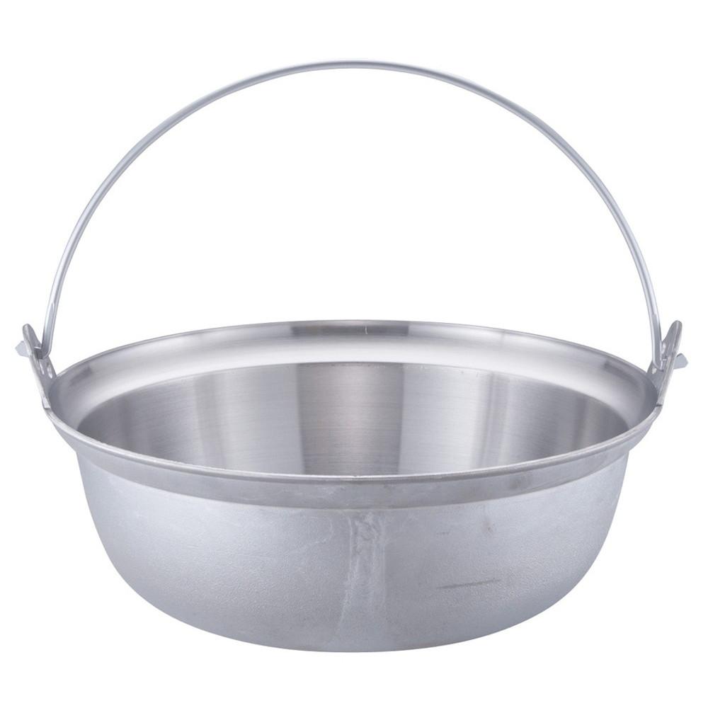 アルミイモノ 吊付円付鍋 48cm [ 外径:487mm 深さ:177mm 16.5L ] [ 料理道具 ] | 厨房 食堂 和食 ホテル 飲食店 業務用